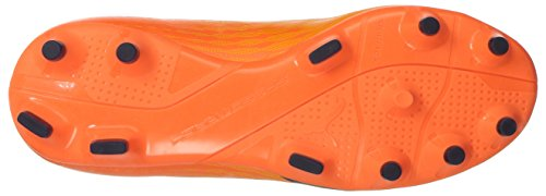 Puma Kids evoSPEED 17 SL S FG Jr Skate Shoe Ultra Yellow-peacoat-orange Clown Fish