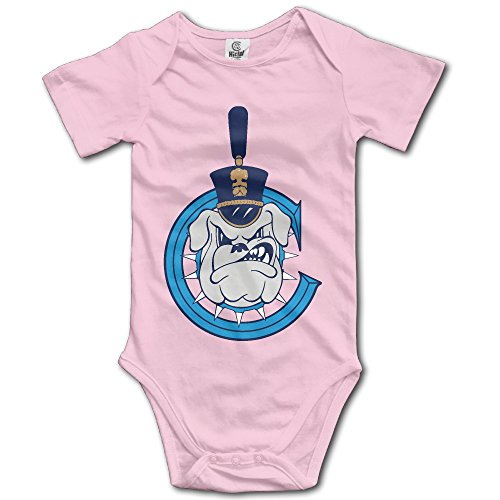 MNSTK Baby's Bodysuit Romper Jumpsuit Citadel Bulldogs - Shopping The Citadel
