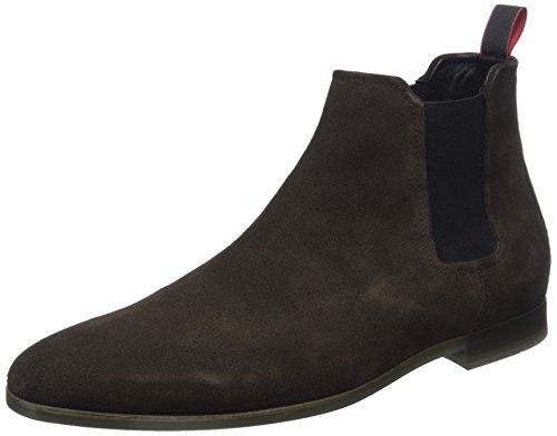 Pariss Men's Boots Chelsea 01 Brown Dark Hugo 10201519 Cheb Brown sd1 H5nwxB