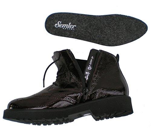 boots 068 Bordeaux Elena femme 051 Semler E85133 wZUxXqHSZ