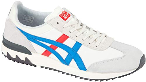 - Onitsuka Tiger California 78 EX Unisex Running Shoes, Cream/Classic Blue, 7.5 M US