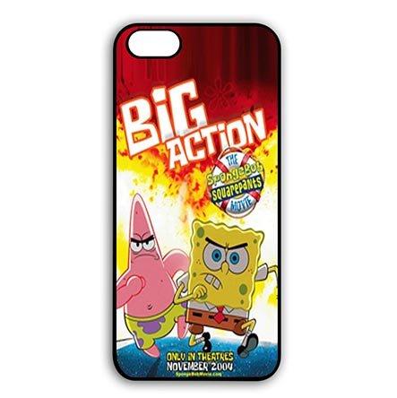 [Athletic Design Spongebob iPhone 6 PLUS - iPhone 6S PLUS(5.5 Inch Screen) Black Snap On Cases - Custom iPhone 6 PLUS - iPhone 6S PLUS(5.5 Inch Screen) Carring] (Peter Pan Cast Costumes)