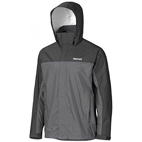 Marmot Men's PreCip Jacket: Shell (Cinder, Large)