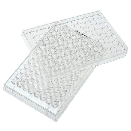 Celltreat 229590 96 Well Non-treated Plate with Lid, Round Bottom, Sterile (Case of 100) ()