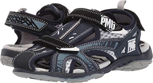 Primigi Kids Sandals - Primigi Kids Boy's PRU 34609 (Little Kid/Big Kid) Navy 35 M EU