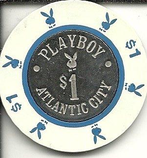 $1 playboy rare vintage casino chip atlantic city new jersey