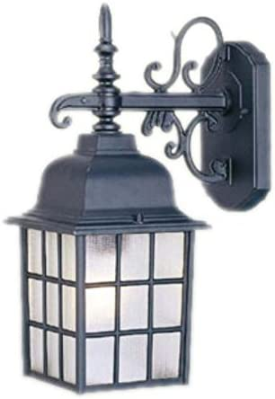 Acclaim 5302BK One Light Outdoor Wall Mount, Matte Black