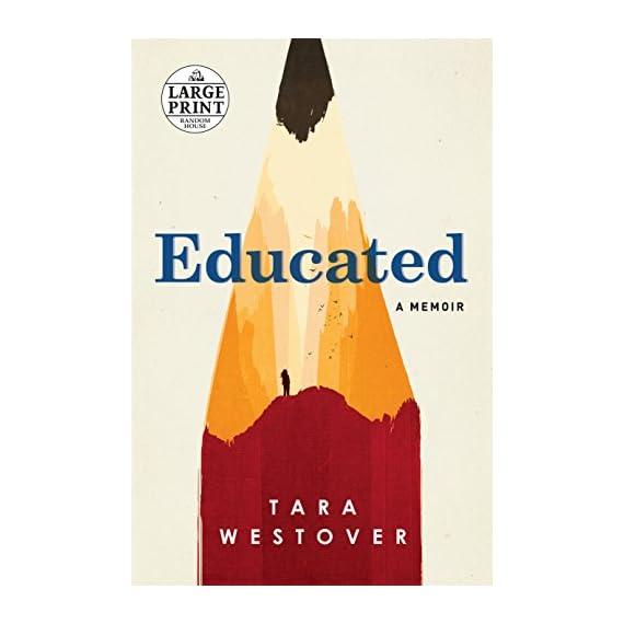 Educated-A-Memoir-Random-House-Large-Print