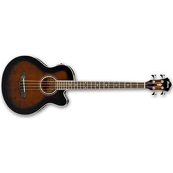 ibanez pcbe12mhopn 4 string acoustic bass guitar musical instruments. Black Bedroom Furniture Sets. Home Design Ideas