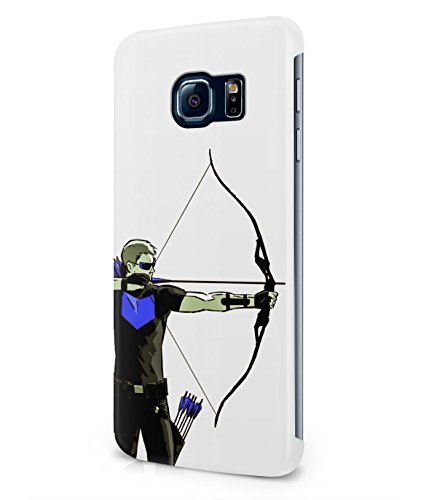 Hawkeye The Avengers Assemble Superhero Plastic Snap-On Case Cover Shell For Samsung Galaxy S6 EDGE