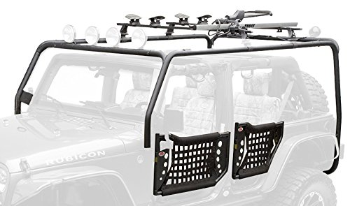 Body Armor Roof Rack (Body Armor 4x4 JK-6124 Black Cargo Rack, Base Unit for 2007-2013 Jeep JK Unlimited)