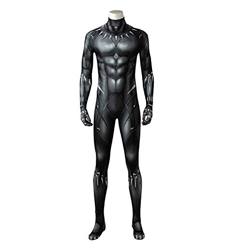 Boomtrader Black Muscle Battle Suit Costume Halloween Cosplay