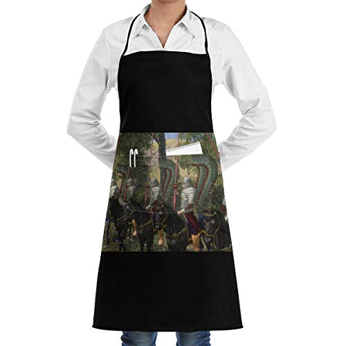 TESA68S86QD Mount & Blade with Fire & Sword Waterproof Pocket Apron for Mens and Womens One Size White (Mount And Blade With Fire And Sword)