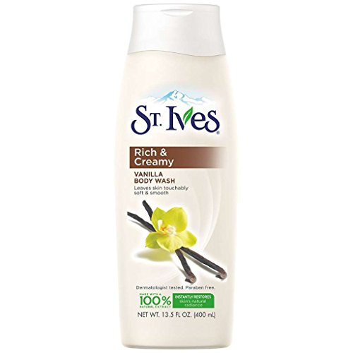 St Ives Body Wash 13.5 Ounce Pampering Vanilla