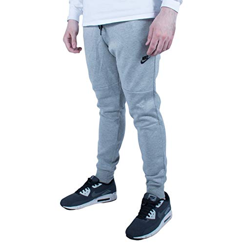 Nike Tech Fleece Pants, Gray, XL