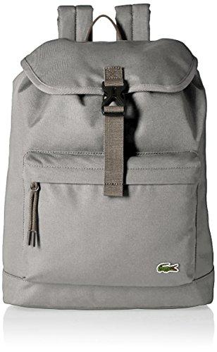 Lacoste Men's Flap Backpack, Vetiver