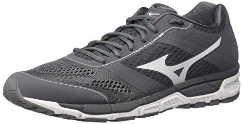 Mizuno Men's Synchro Mx Baseball Shoe, Grey/White, 15 D US 320544