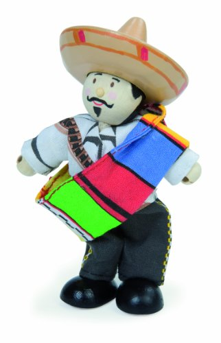 Cowboy And Indian Outfits (Le Toy Van Budkins Cowboys And Indians, Pancho The Mexican)