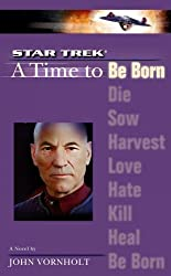 STAR TREK A TIME TO BE BORN