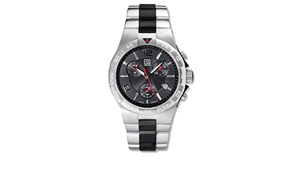 Amazon.com: ESQ Movado Mens 7301104 Rally Stainless-Steel Watch: Watches