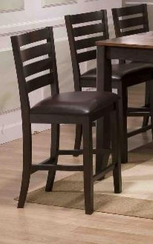amazon com elliot counter height chair set of 2 by crownmark