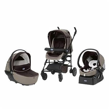 Chicco Trio Living Smart - Silla de paseo, color marrón: Amazon.es: Bebé