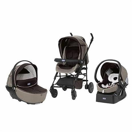 Chicco Trio Living Smart - Silla de paseo, color marrón ...