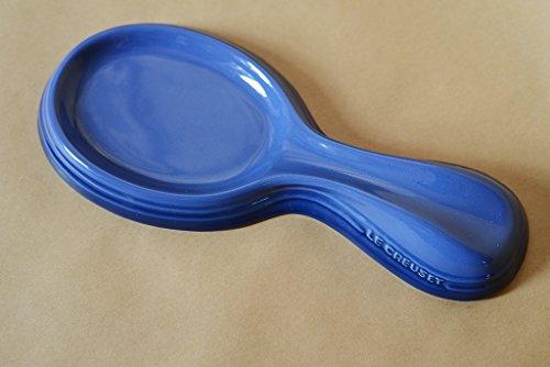 Le Creuset Stoneware 10'' Spoon Rest Cobalt Blue by Le Creuset