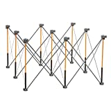 Bora Centipede 4ft x 4ft 9-Strut Work Table, Includes 4 X-Cups, 4 Quick Clamps, Carry Bag, Portable Work Support Sawhorse, CK9S