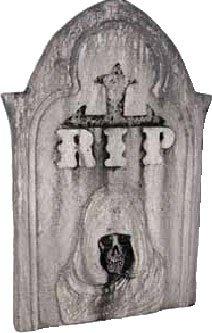 Halloween Grim Reaper RIP Tombstone Prop