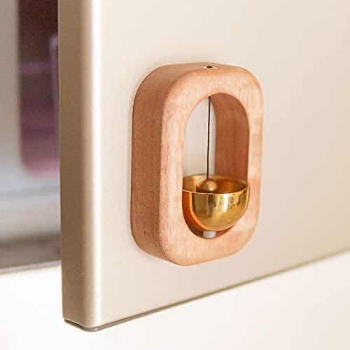 Campana de alerta para puertas en gral / magnética / nogal