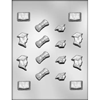 CK Products Graduation Assortment Chocolate Mold