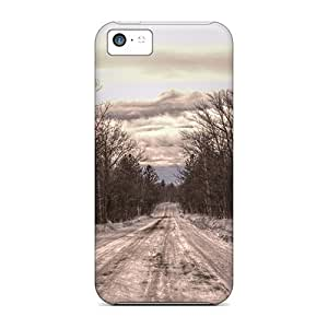 S.N.H Scratch-free Phone Case For Iphone 5c- Retail Packaging - Snow Road