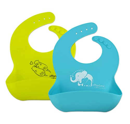 Waterproof Silicone Bib PlatinumPure Phthalates product image