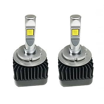 Zesfor Bombillas LED D1S - Convierte Tus Faros Xenon a LED d1s: Amazon.es: Coche y moto
