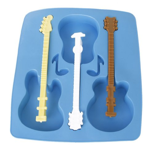 Silicone Freeze Shaped Chocolate Guitar product image