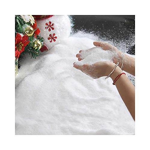 Artificial Snow Scatter Flakes –Ready to Use-No Prep Needed; Mountain Top-Like Fluffy Fallen Snow (Tm) (2) by Mountain Top-Like Fluffy Fallen Snow (Image #1)