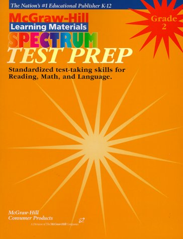 Spectrum Test Prep: Grade 2 : Tesp Preparation for Rading Language Math (Spectrum Series) by Brand: School Specialty Childrens Pub