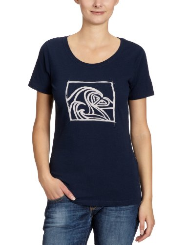 Roxy Good Looking / XMWJE95218 T-shirt Femme Bleu foncé Taille M / 40-42