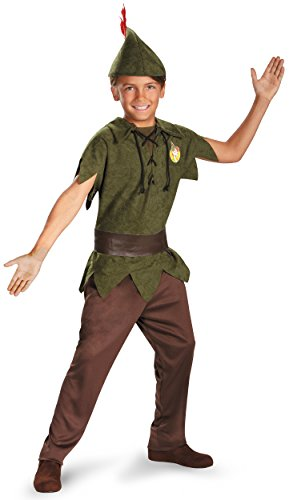 Peter Pan Standard Toddler Costume: Size 3T-4T (Peter Pan Costumes For Toddlers)