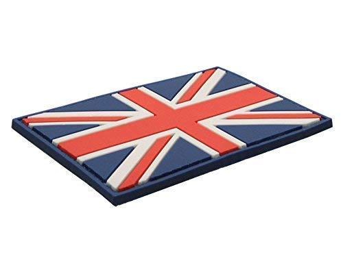 Patch Drapeau Anglais Union jack Rouge Blanc Bleu PVC