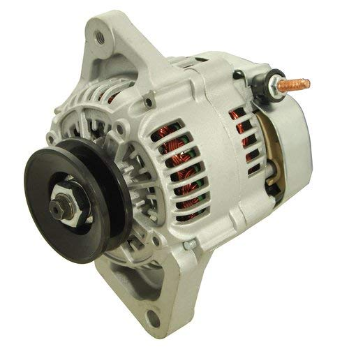 - Alternator - Denso Style (12352) Compatible with John Deere 4600 4310 3520 4300 50D 110 4200 4210 4610 3720 35D 4410 4700 4500 4105 4400 4710 4510 3320 3120 New Holland E35B E30B Case Yanmar