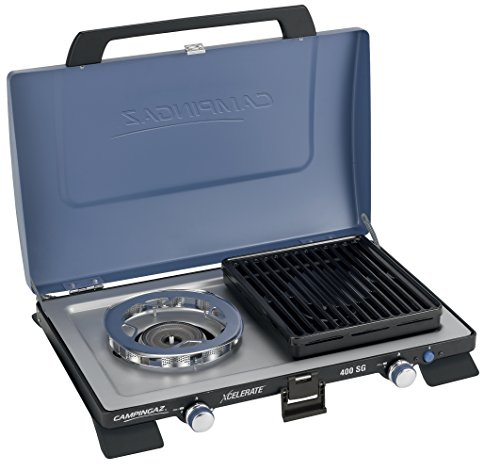 Primus Onja Duo 2 Burner Portable Gas Camping Stove with Carry Bag