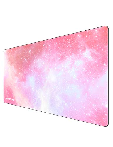 Gaming Mouse Pad Large Mouse Pad Xl Pink Mouse Pads For Computers 3151575in Large Extended Gaming Keyboard Mouse Pads Big Desk Mouse Mat Designed For Gaming Surfaceoffice Durable Edges