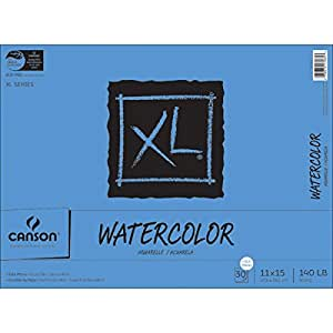 Canson Bound Watercolor Pad, 30-Sheet