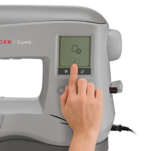 Singer | Superb EM200 Embroidery Sewing Machine Including 200 Embroidery Designs, Automatic Needle...