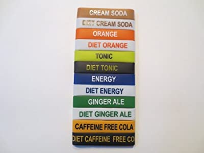 Soda Rings- Labels for Soda Streem bottles.