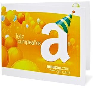 Amazon Gift Card - Print - Feliz Cumpleaños (Balloons) (B004KNWWN6) | Amazon price tracker / tracking, Amazon price history charts, Amazon price watches, Amazon price drop alerts