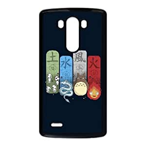 LG G3 Cell Phone Case Black Elemental Charms T1D0H