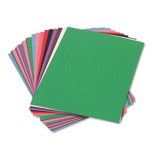 SunWorks Construction Paper Assorted 50 Sheets//Pack 6282614 9 x 12 58 lbs